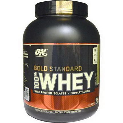 Optimum Nutrition, Gold Standard 100% Whey, Chocolate Mint 2.27 kg