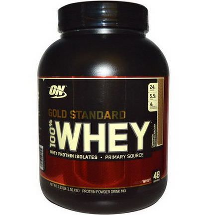 Optimum Nutrition, Gold Standard, 100% Whey, Cinnamon Graham Cracker 1.51 kg