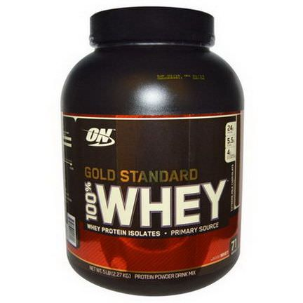 Optimum Nutrition, Gold Standard, 100% Whey, Extreme Milk Chocolate 2,27 kg