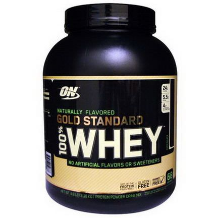 Optimum Nutrition, Naturally Flavored 100% Whey Gold Standard, Chocolate 2.18 kg