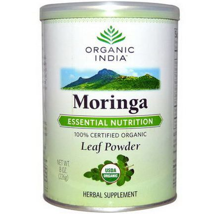 Organic India, Moringa, Leaf Powder 226g