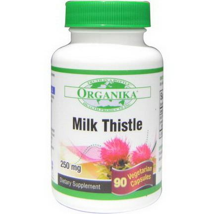 Organika, Milk Thistle, 250mg, 90 Veggie Caps