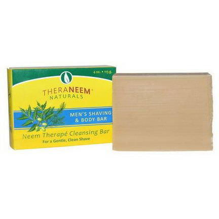 Organix South, TheraNeem Naturals, Men's Shaving&Body Bar 113g