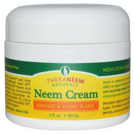 Organix South, TheraNeem Naturals, Neem Cream, Orange&Ylang Ylang 60ml