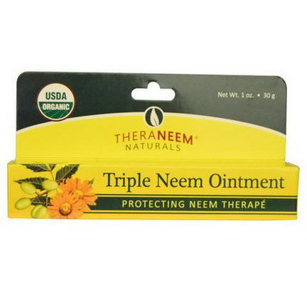 Organix South, TheraNeem Naturals, Triple Neem Ointment 30g