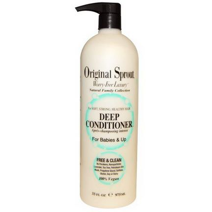 Original Sprout Inc, Deep Conditioner, For Babies&Up 975ml