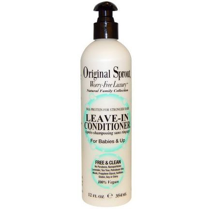 Original Sprout Inc, Leave-In Conditioner, For Babies&Up 354ml
