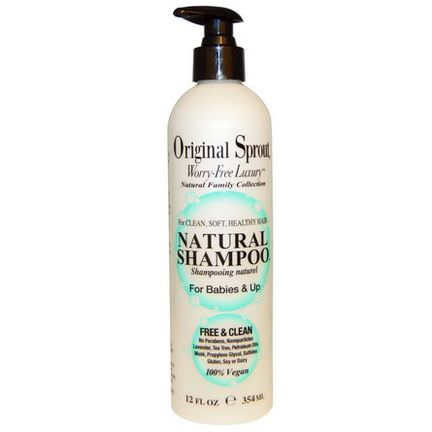 Original Sprout Inc, Natural Shampoo, For Babies&Up 354ml
