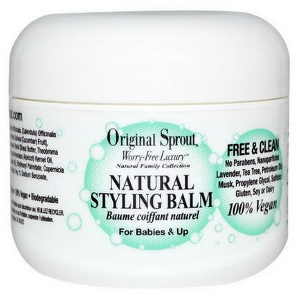 Original Sprout Inc, Natural Styling Balm 59.1ml