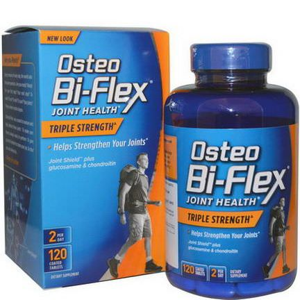 Osteo Bi-Flex, Joint Health, Triple Strength, 120 Coated Tablets
