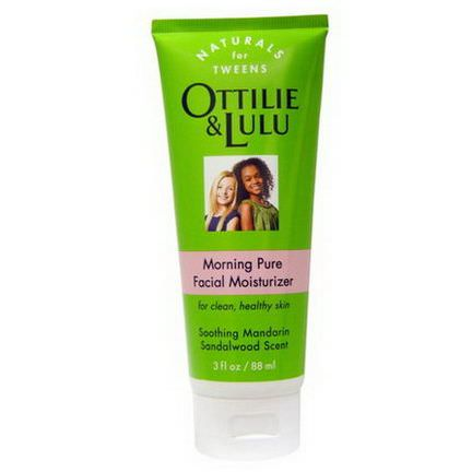 Ottilie&Lulu, Morning Pure Facial Moisturizer, Southing Mandarin Sandalwood Scent 88ml