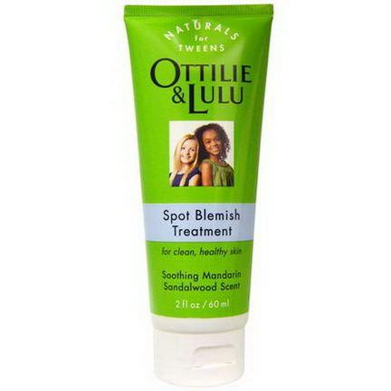Ottilie&Lulu, Spot Blemish Treatment, Soothing Mandarin Sandalwood Scent 60ml