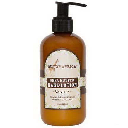 Out of Africa, Hand Lotion, Vanilla 230ml