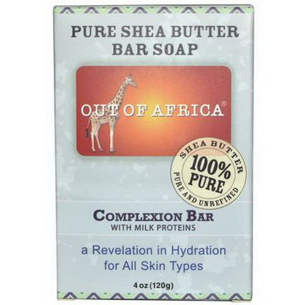 Out of Africa, Pure Shea Butter Bar Soap, Complexion Bar 120g