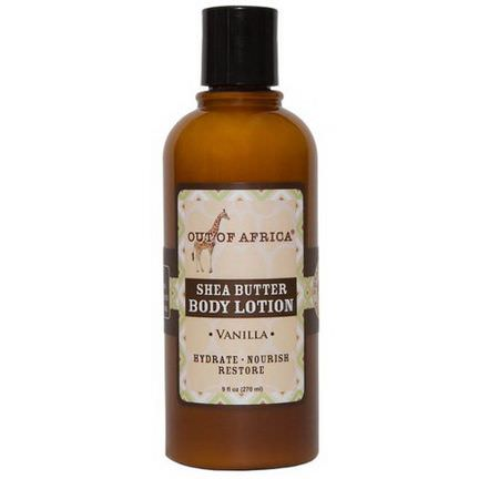 Out of Africa, Shea Butter Body Lotion, Vanilla 270ml