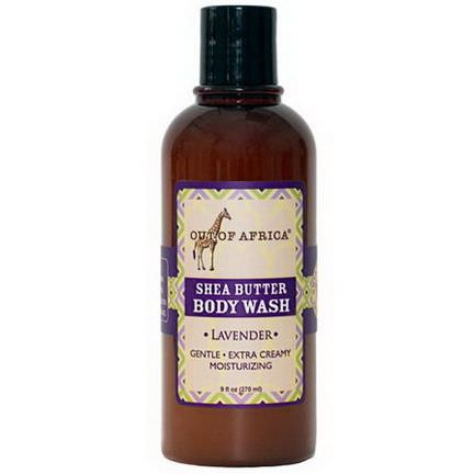 Out of Africa, Shea Butter Body Wash, Lavender 270ml