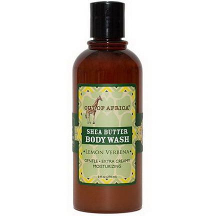 Out of Africa, Shea Butter Body Wash, Lemon Verbena 270ml