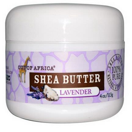 Out of Africa, Shea Butter, Lavender 113g