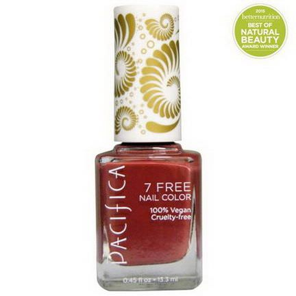 Pacifica, 7 Free Nail Color, Bianca 13.3ml