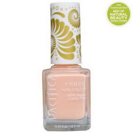 Pacifica, 7 Free Nail Color, Immortal 13.3ml