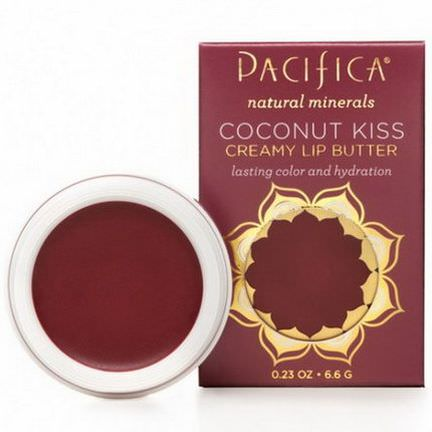 Pacifica, Coconut Kiss, Creamy Lip Butter, Blissed Out 6.6g