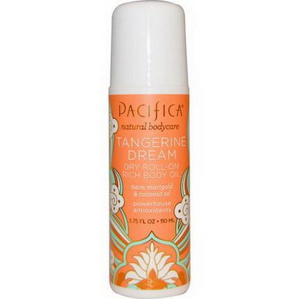 Pacifica, Dry Roll-On, Rich Body Oil, Tangerine Dream 110ml