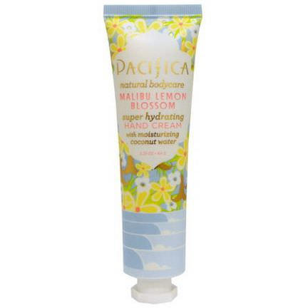 Pacifica, Hand Cream, Malibu Lemon Blossom 64g