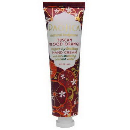 Pacifica, Hand Cream, Tuscan Blood Orange 64g
