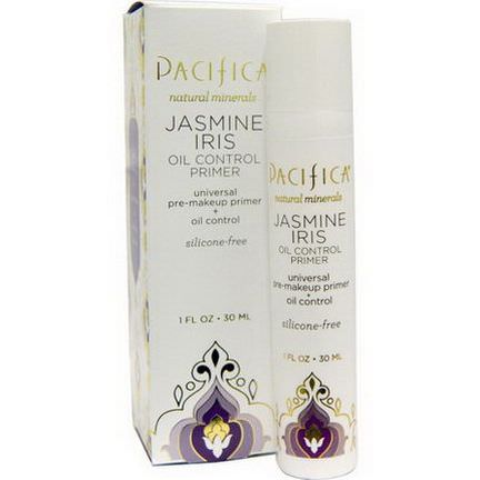 Pacifica, Oil Control Primer, Jasmine Iris 30ml