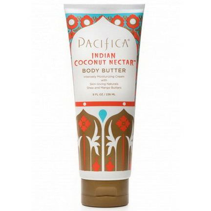 Pacifica, Body Butter, Indian Coconut Nectar, Shea and Mango Butters 236ml