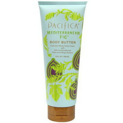 Pacifica, Body Butter, Mediterranean Fig 236ml