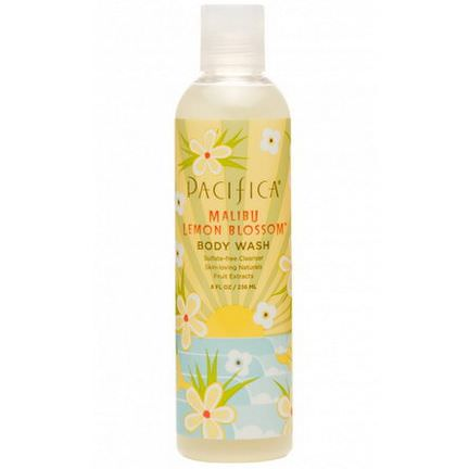 Pacifica Perfumes Inc, Body Wash, Malibu Lemon Blossom 236ml