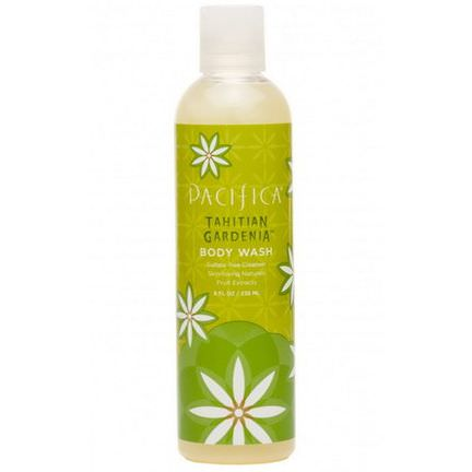 Pacifica, Body Wash, Tahitian Gardenia 236ml