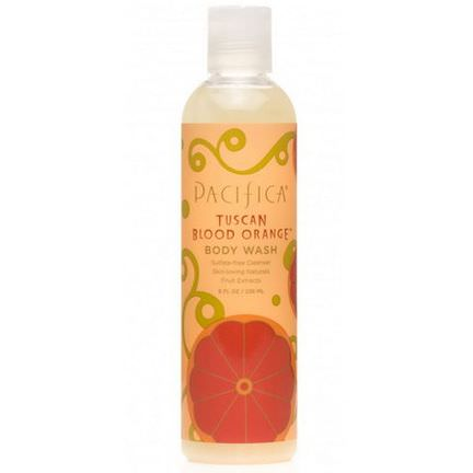 Pacifica, Body Wash, Tuscan Blood Orange 236ml