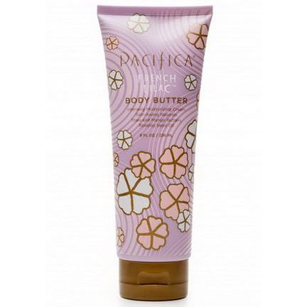 Pacifica, Natural Bodycare, Body Butter, French Lilac, With Shea and Mango Butters 236ml