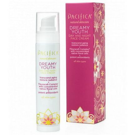 Pacifica, Natural Skincare, Dreamy Youth, Day and Night Face Cream, All Skin Types 50ml