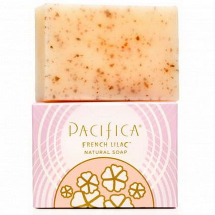 Pacifica, Natural Soap, French Lilac 170g