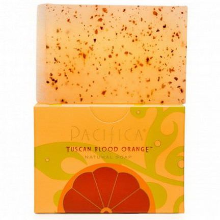 Pacifica, Natural Soap, Tuscan Blood Orange 170g