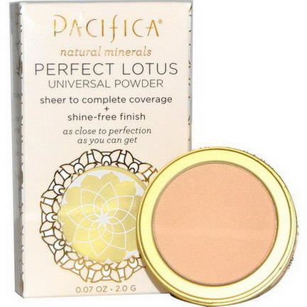 Pacifica, Perfect Lotus, Universal Powder, Natural 2.0g