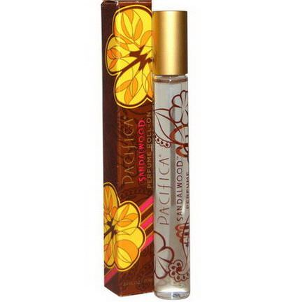 Pacifica, Perfume Roll-On, Sandalwood 10ml