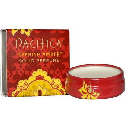 Pacifica, Solid Perfume, Spanish Amber 10g