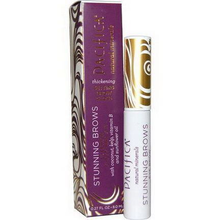 Pacifica, Stunning Brows, Eyebrow Gloss And Set, Clear 8.0ml