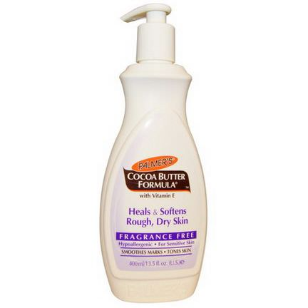 Palmer's, Cocoa Butter Formula, Body Lotion, Fragrance Free 400ml