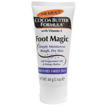 Palmer's, Cocoa Butter Formula, Foot Magic, with Peppermint Oil&Mango Butter 60g