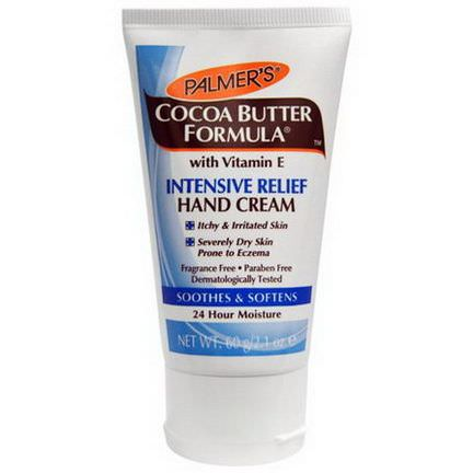 Palmer's, Cocoa Butter Formula, Intensive Relief Hand Cream, Fragrance Free 60g