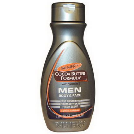 Palmer's, Cocoa Butter Formula, with Vitamin E, Men, Body&Face 250ml