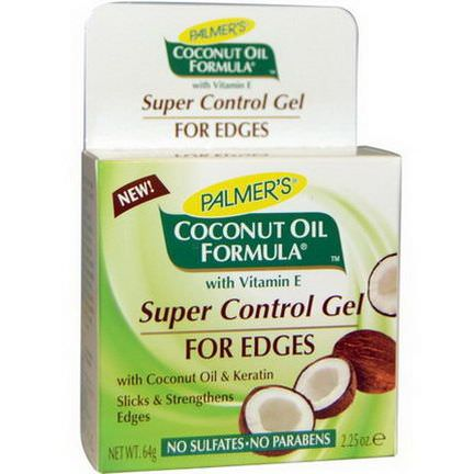 Palmer's, Coconut Oil Formula, Super Control Gel, For Edges 64g