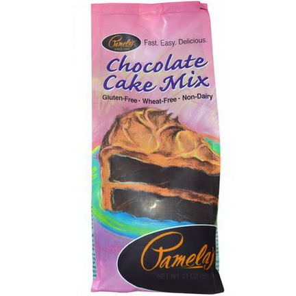 Pamela's Products, Chocolate Cake Mix 595g
