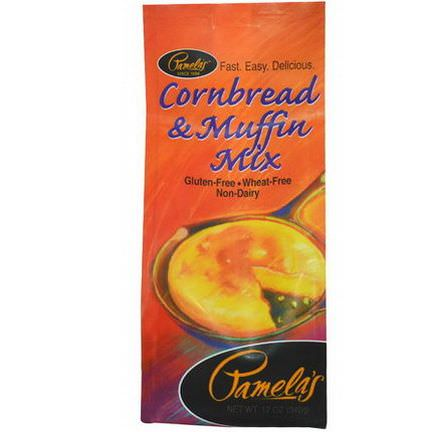 Pamela's Products, Cornbread&Muffin Mix 340g