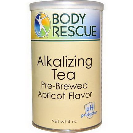 Peelu, Body Rescue, Alkalizing Tea, Apricot, 4 oz